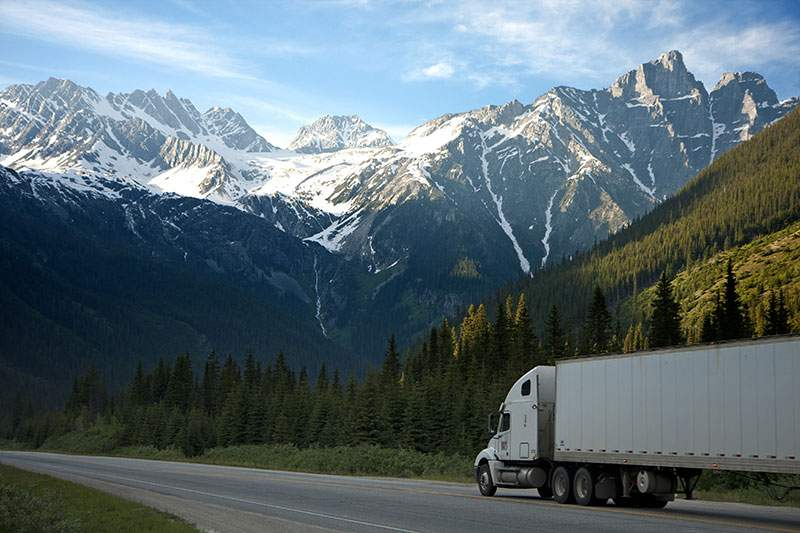 contact access gentle moving truck mountain pass